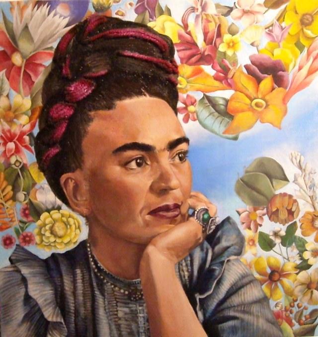 Frida Khalo retrato