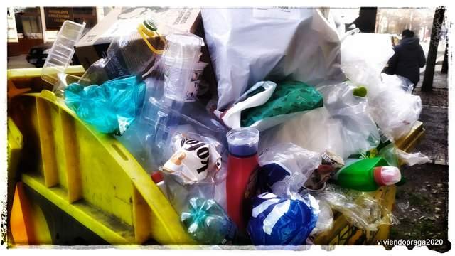 basura contenedor