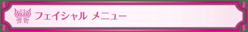 フェイシャル-メニュー_Vivienne Waxing【大阪・南堀江】ブラジリアンワックス 心斎橋 難波 ヴィヴィアン