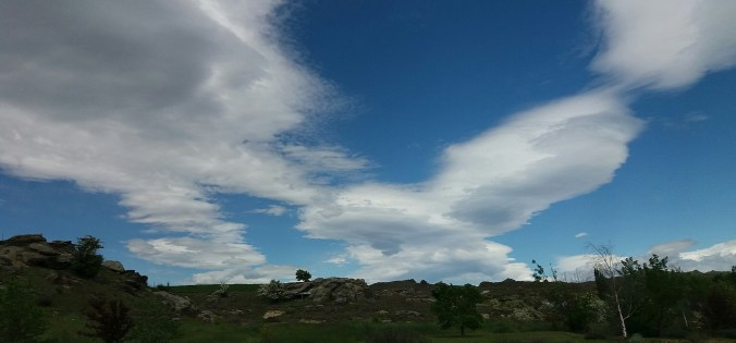 Central Otago clouds