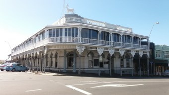 White Hart hotel, New Plymouth