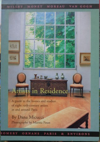 Artists in Residence book case