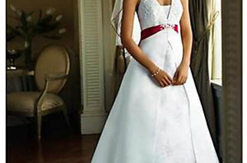 Red White And Blue Wedding Dress: Another Patriotic