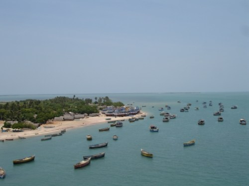 Rameswaram from the Bridge
