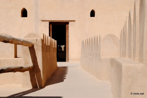 Walkway in Nizwa Fort