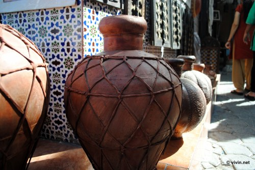 Jug for sale at the Muttrah Souq