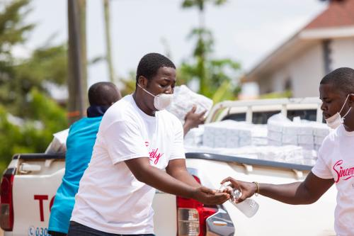 CEO Of Sincerely Ghana Ltd. Donates 2000 Sanitary Pads To Vulnerable Women