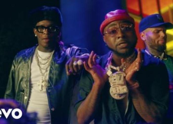 Davido – Shopping Spree ft. Chris Brown, Young Thug (Official Video)