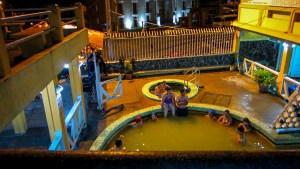 Aguas termales Baños Ecuador
