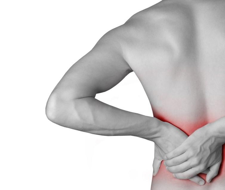 dolor de espalda y falta de postasi