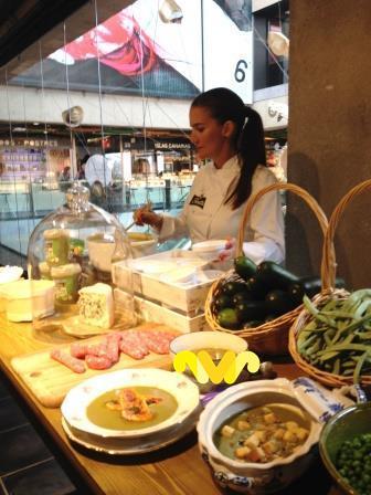 La chef Samantha Vallejo-Nágera presenta las nuevas Cremas de Temporada de Florette.