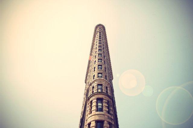 Nueva York. Edificio Flatiron (plancha)