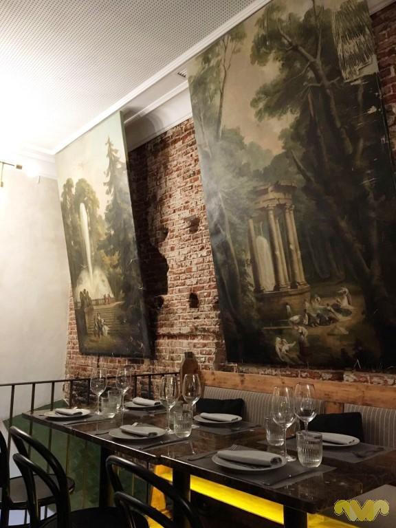 Fina Catalina. Restaurante italiano del Grupo hostelero Wolf. Madrid