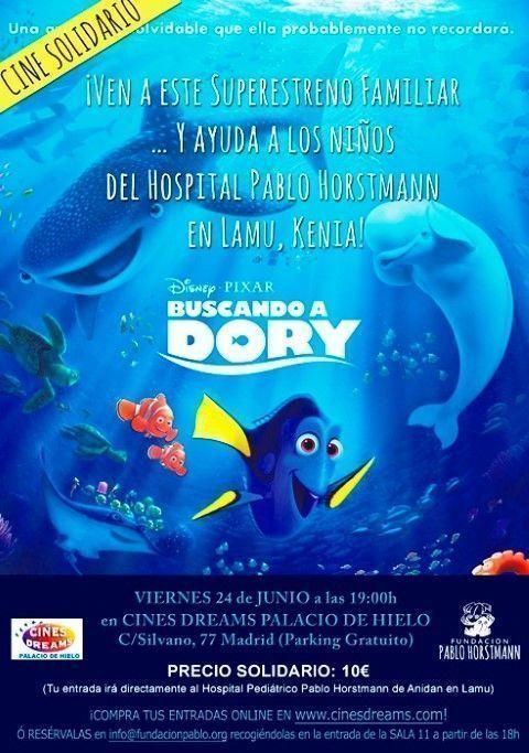 La Fundación Pablo Horstmann te trae el mejor cine solidario con la película 'Buscando a Dory'.