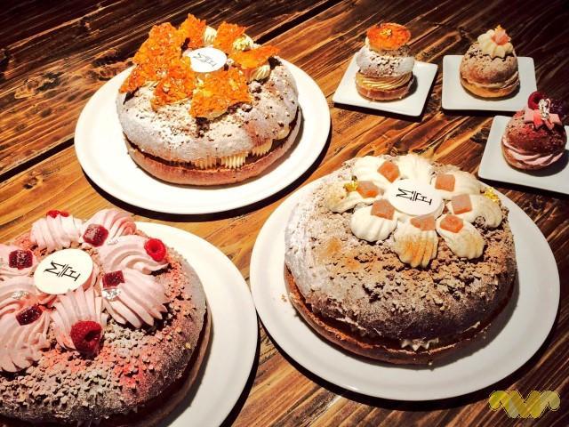 Roscones de Reyes. Pastelería Mamá Framboise. Cuatro sabores