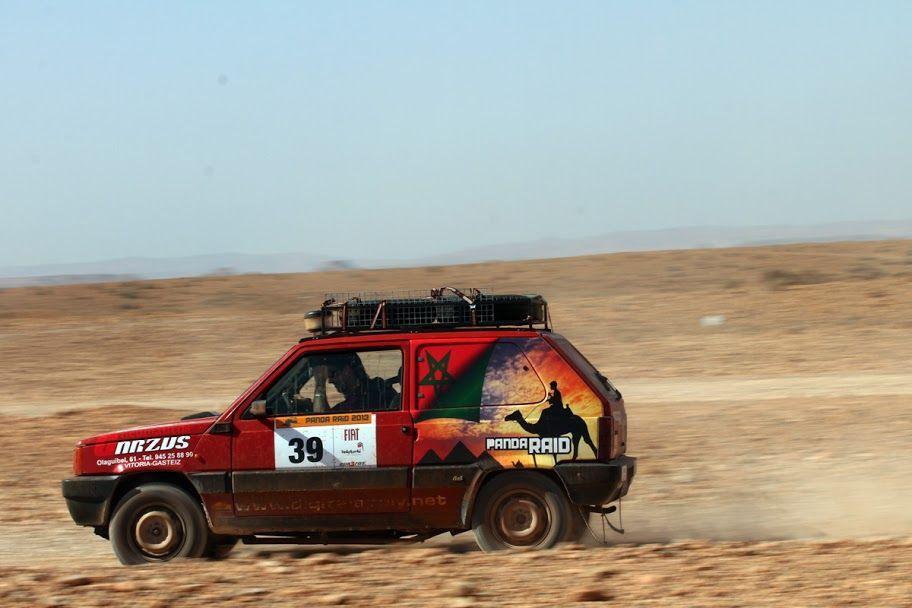 Panda Raid, vivirás una aventura solidaria en el desierto