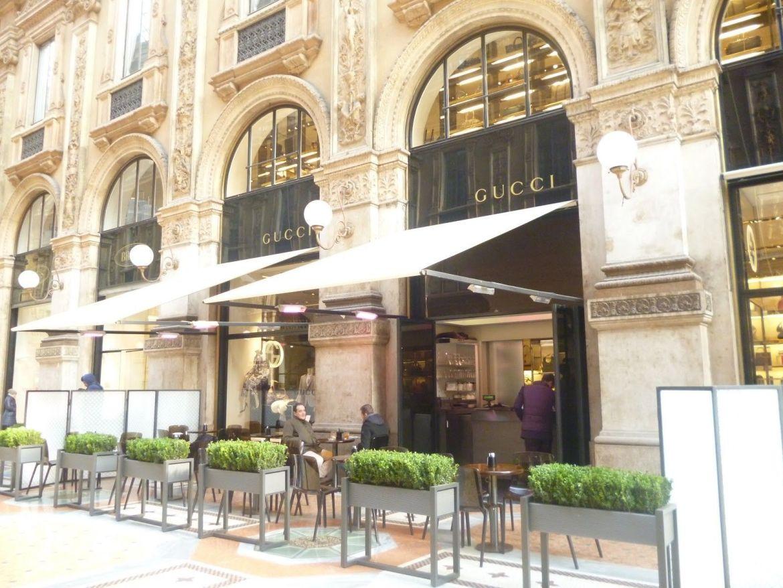 Gucci Cafe. Milan