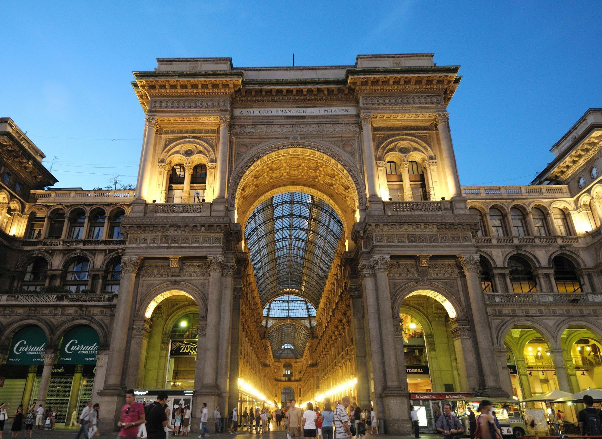 Galleria Vittorio Emanuelle II. Milán