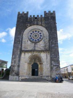 Portomarín. Iglesia de San Juan.