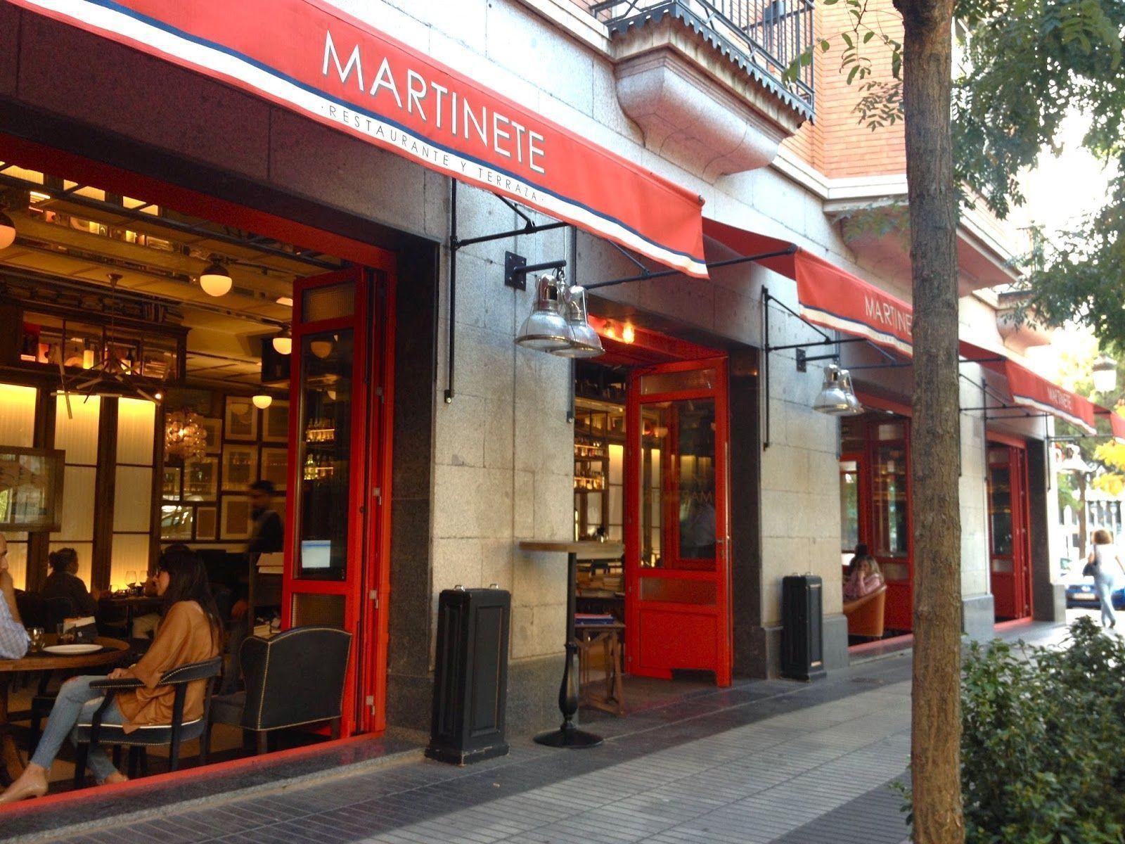 Restaurante Martinete Madrid