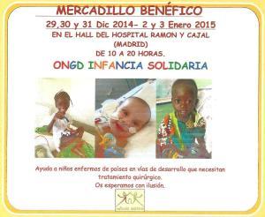 Mercadillo Benéfico Infancia Solidaria