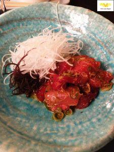 Tamaki de Maguru picante. Restaurante Kabuki