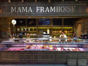 Mamá Framboise. Mercado de La Paz