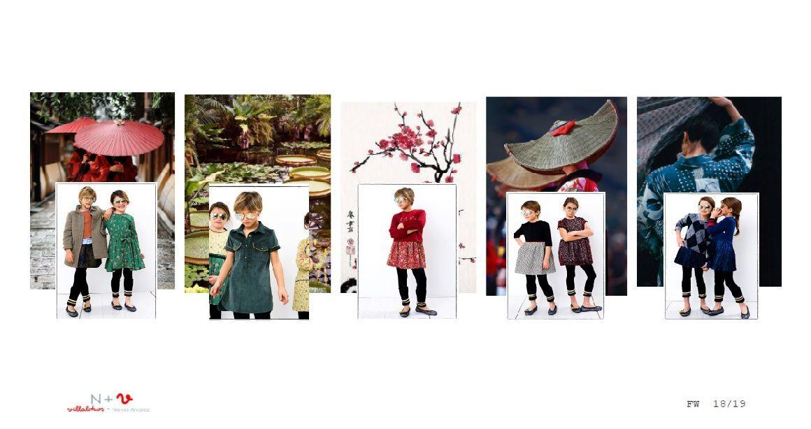 N+V, Villalobos + Nieves Alvarez. Moda Infantil. Colección Japón. Otoño-Invierno 2018