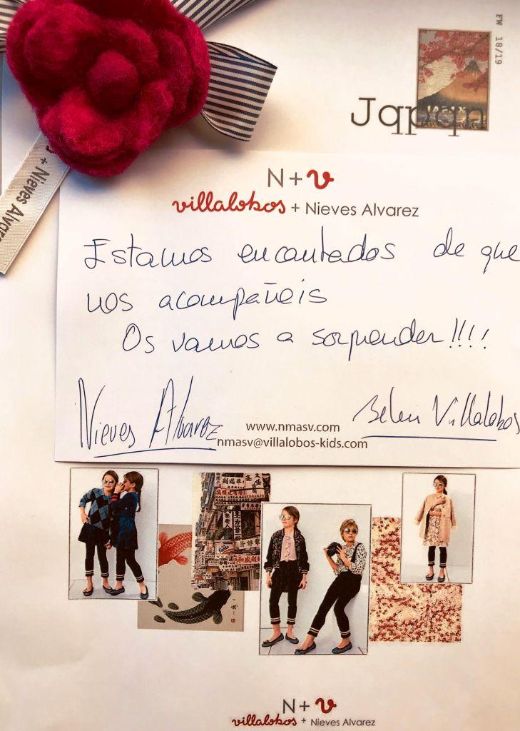 N+V, Villalobos +Nieves Alvarez. Invitación