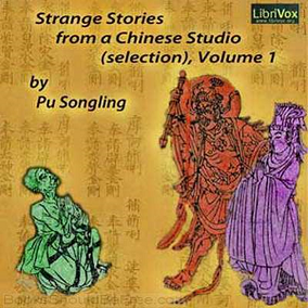 Portada del libro Strange stories from a chines studio de Pu Songling