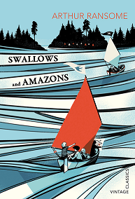 Portada del libro swallows and amazons de arthur ransome