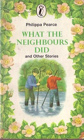 Portada del libro What the negihbours did de Philippa Pearce