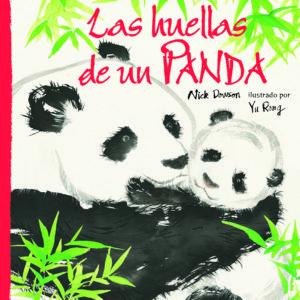 Las huellas de un panda