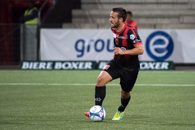 Raphaël Nuzzolo joue avant tout pour l'équipe. « Marquer des buts n'est pas mon objectif premier », affirme-t-il en zone mixte. © Oreste Di Cristino