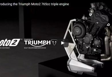 Motor Triumph da MOTO2 – 765cc