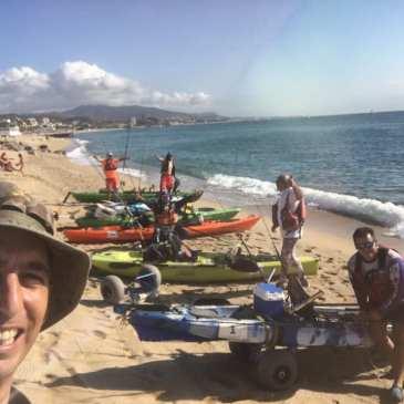 «A la deriva en Badalona»: Crónica del IX Campeonato de España de pesca en kayak