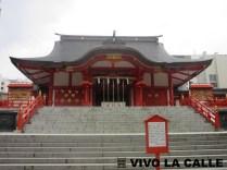 Y sí, es el barrio rojo pero igual hay templos.
