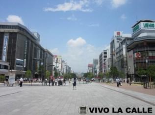 Vista desde la estación JR Himeji.