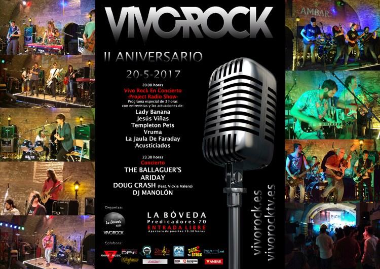 II Aniversario de Vivo Rock