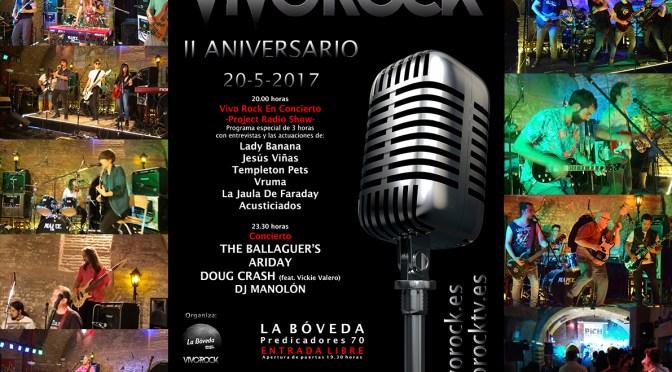 Emisión II Aniversario Vivo Rock (1ª parte)