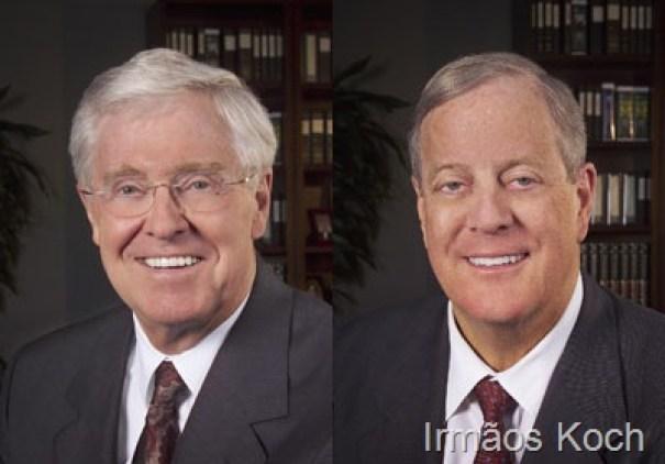 8. Charles and David Koch