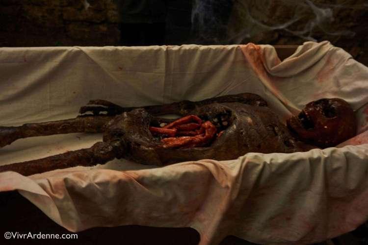 VivrArdenne - Halloween au Château Fort Les reliques du seigneur