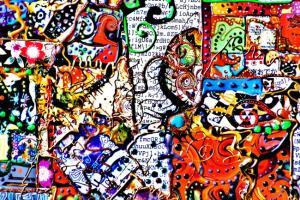 oeuvre de jonathan choin : voyages pigmentés