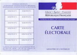 vote et handicap la carte
