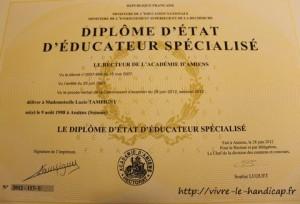 diplôme éducateur spécialisé