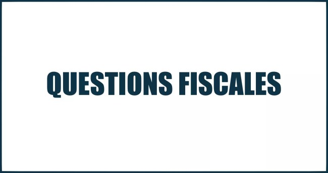question fiscale