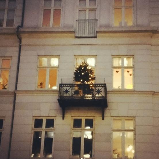Noël et ses sapins apparaissent en ville!