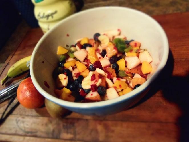 bol salade fruits