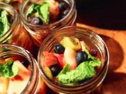 coupe de fruits frais
