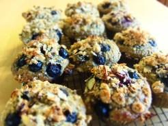 muffin curcuma bleuets chia